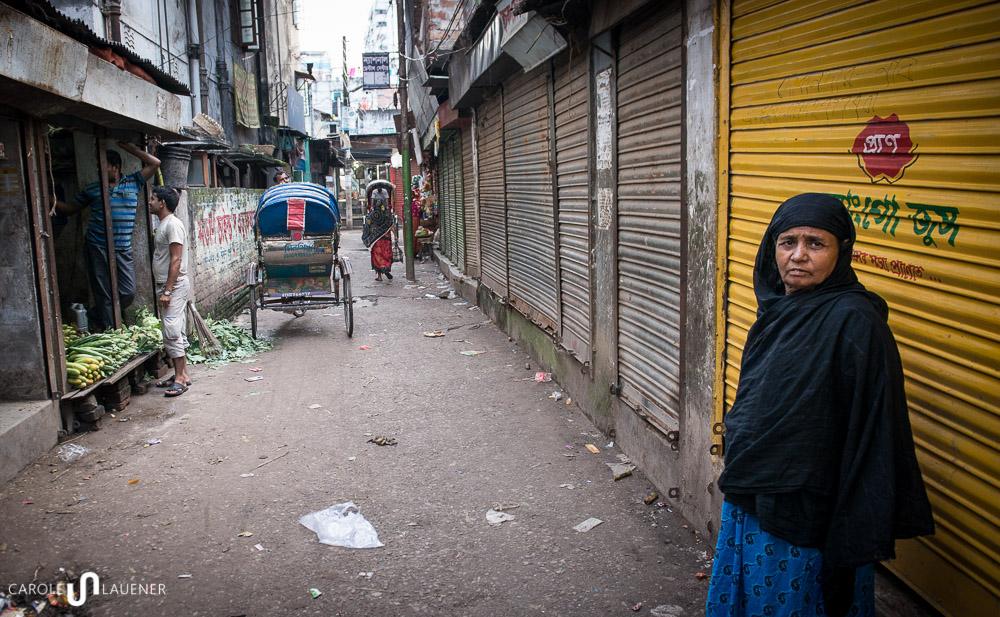 An Hartal-Tagen bleiben auch in meinem Quartier viele Läden geschlossen.