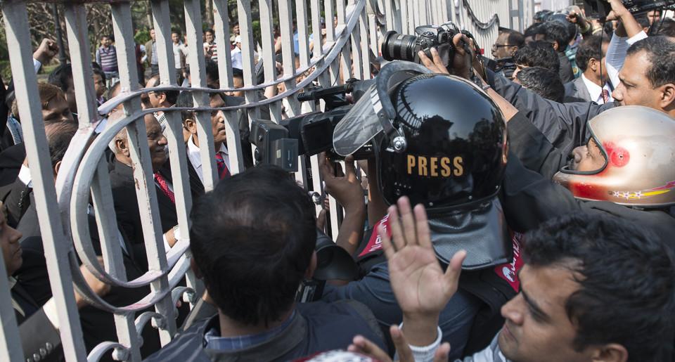Bangladesch durch den Sucher