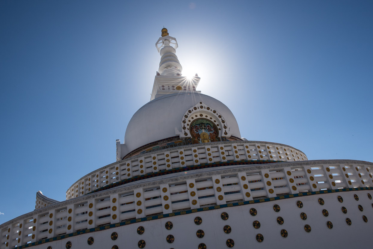 stupa leh ladakh