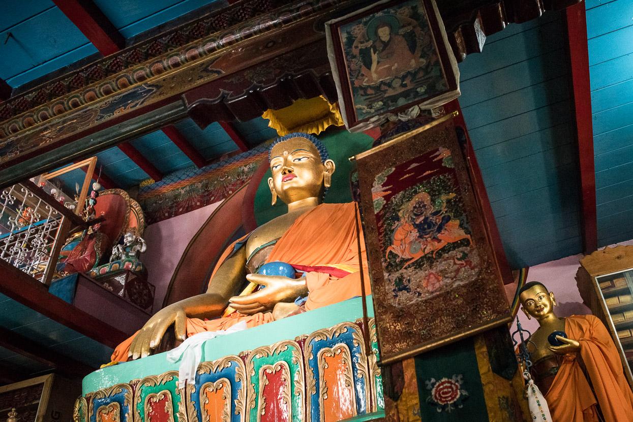 buddhist temple manali