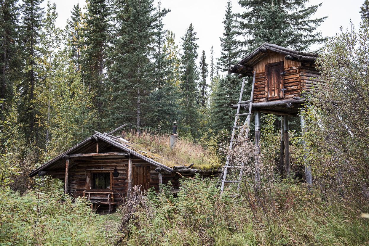 Cabin at Big Salmon River