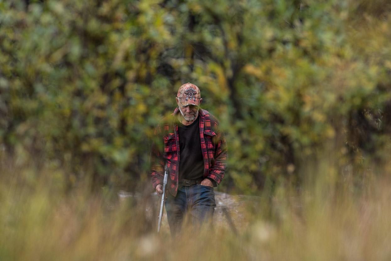 Yukon hunter Doug Martens